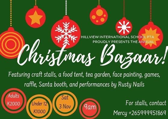 PTA Christmas Bazaar