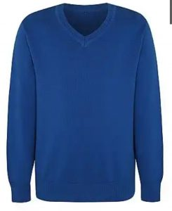 Royal blue pullover