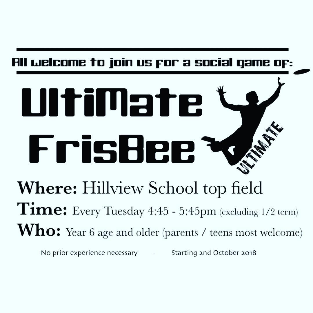 Social Ultimate Frisbee